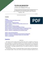 States and Minorities- Dr. B.R.ambedkar