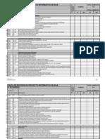 Planilla revisión proyecto RIDAA