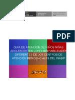 PROPUESTA DE LA  GUIA DE ATENCIÓN DE ESPECIALISTAS SOCIALES - INABIF