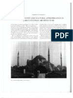 Ethnic Identity and Cultural Appropriation in Early Ottoman Architecture