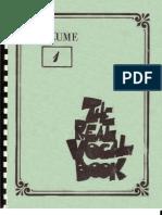 Real Vocal Book Vol 1