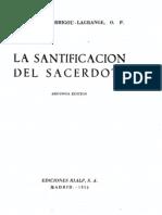La Santificacion Del Sacerdote Garrigou Lagrange