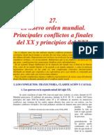 Principales Conflictos Actuales en el Mundo