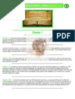 Puntos Sobresalientes de Biblia - Oseas 1 a 7