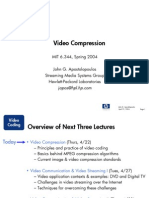 Video Compression 2004