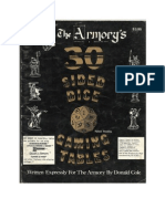 30-Sided Dice Gaming Tables - The Armory