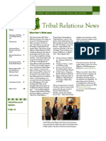 USDA Tribal Relations News Spring 2012 Newsletter