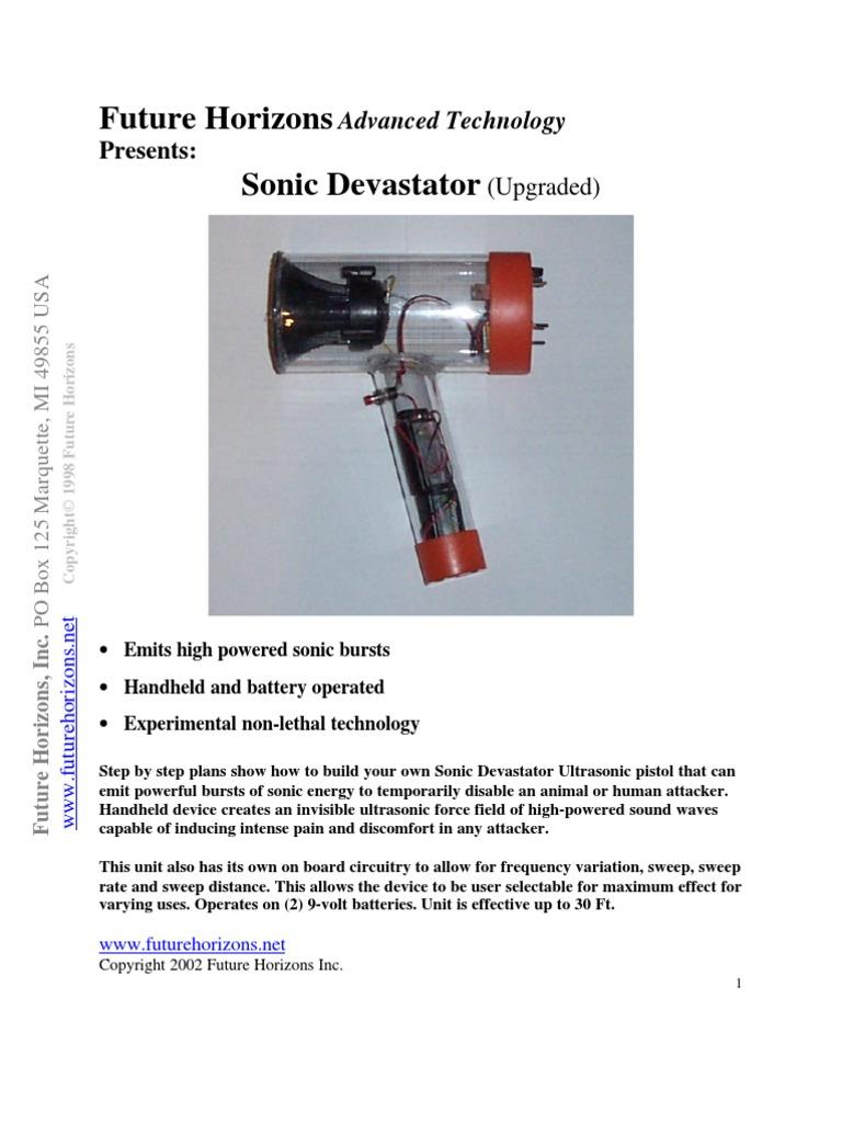 Sonic Devastator | Ultrasound | Hearing