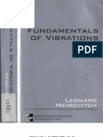 Fundamentals of Vibrations by Leonard Meirovitch (2001)