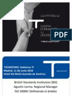 ISO 20000 Tecnofor