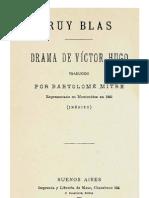 Ruy Blas Drama de Victor Hugo