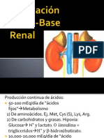 Regulación Ácido-Base Renal. MEL