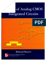 Design of Analog CMOS Integrated Circuits (Behzad Razavi)Marcado