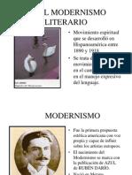 EL MODERNISMO LITERARIO 11-12