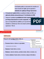 Presentacion de Dona Alicia Morillas - Public speech. Operational Risk. Alicia M. Salazar
