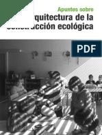 Apuntes sobre arquitectura ecológica