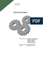Informe Ensayo Jominy Curso 966 Inacap