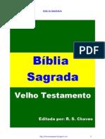 Bíblia Sagrada Velho Testamento 2012 R S Chaves