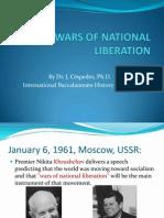 Dr. Juan R. Céspedes, Ph.D. - Wars of National Liberation