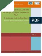 Informe Final Senderos de Alux 2010