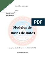 22-02-2012 Modelos de Base de Datos