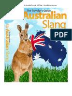 Australian Slang eBook