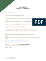 Curriculum Vitae Modelo 2