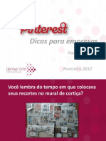 Pinterest Para Empresas by Denise Tonin - Fev2012