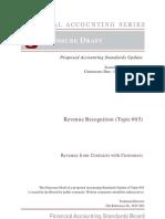 Revenue Recognition (Topic 605)