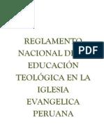 to Nacional de Educacion Propuesta