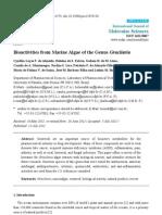 Bio Activities From Marine Algae of the Genus Gracilaria