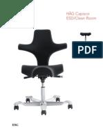 Hag Capisco ESD Clean Spec Sheet