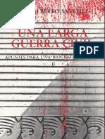 """De """"Una larga guerra civil"""" por Luis Alberto Sánchez"""