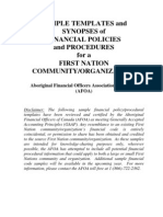 Sample Financial Templates