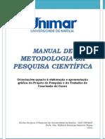 Manual de Metodologia Tcc Unimar