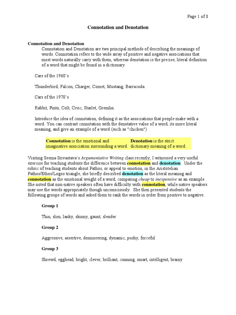 Free Worksheet Connotation Worksheet paydayloansusaprh – Connotation Worksheet