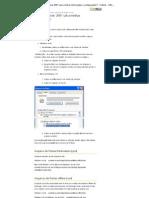 Onde o Outlook 2007 salva informações e configurações