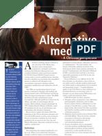 Alternative Medicine a Christian Perspective