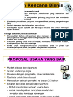 Teknik Membuat Proposal Usaha