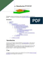Manual PVSyst - Español