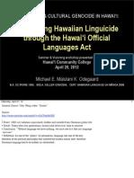 UH Hilo / HCC Hawai'i OLA Workshop