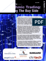 Algorithmic Trading - Attracting the Buy Side