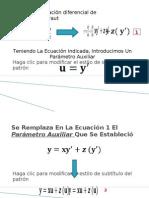 Presentación ecuacion de clairaut