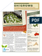 H2OH!Grows Newsletter for April 2012