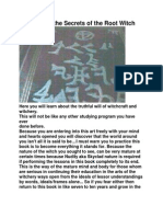 """The Witches Secrets """"Textbook guide to Rooting Magic(k)"""""""