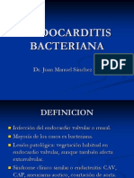 ENDOCARDITIS BACTERIANA