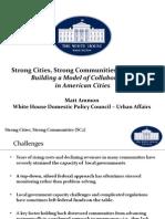 Strong Cities, Strong Communities Convening