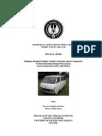 Modifikasi Sistem Kelistrikan Bodi Mobil Toyota Hi-Ace