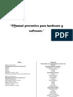 Manual Preventivo Para Hardware y Software.