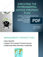 Executing the Environmental Justice Strategic Plan by Kim Lambert